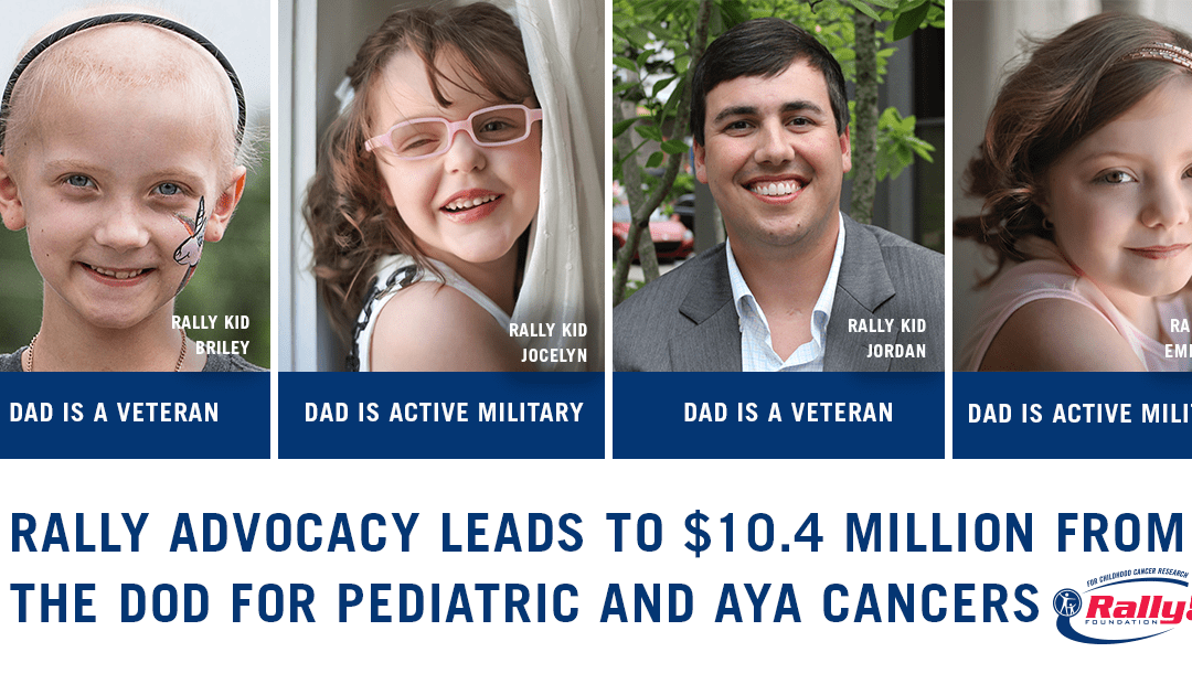 Rally Advocacy Leads to $10.4M for Pediatric and AYA Cancers