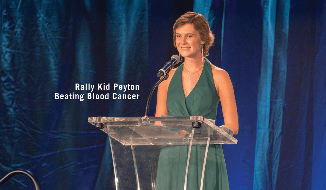 Rally Kid Peyton Speaks from the Heart at Rally's Annual Benefit Bash