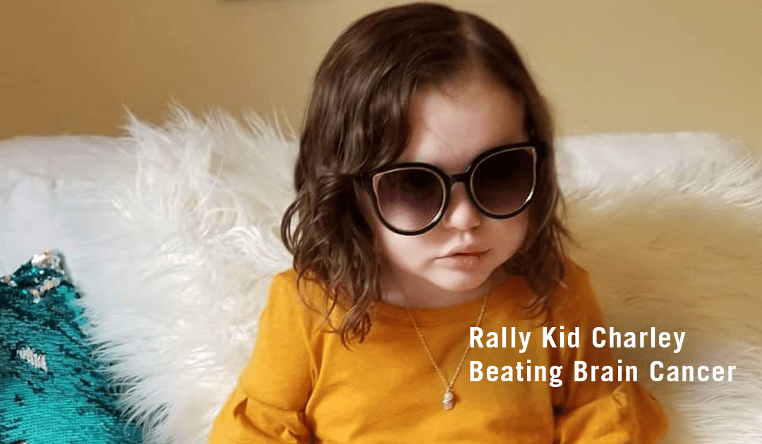 Brain Surgeries & Chemo Can't Stop Rally Kid Charley from Spreading Love & Happiness