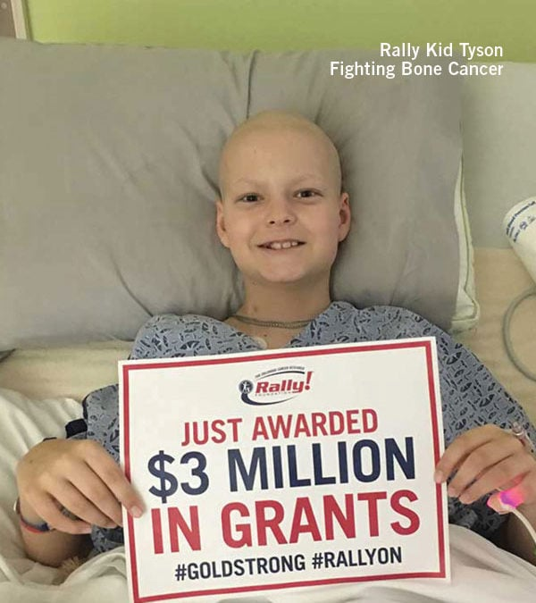 Rally Foundation for Childhood Cancer Research Announces $3 Million in Grant Awards