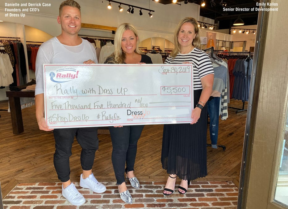 Shopping For a Cause: How Dress Up Raised Money for Rally Foundation