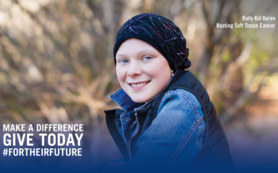 Strong, Kind & Determined to Beat Soft Tissue Cancer: Meet Rally Kid Keren