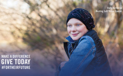 Rally Kid Keren Shares Her Journey with Cancer and How She Stays Positive