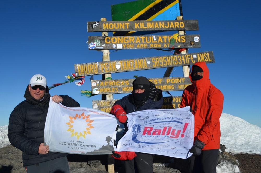 B.B. Summits Mt. Kilimanjaro and Raising $130,000!
