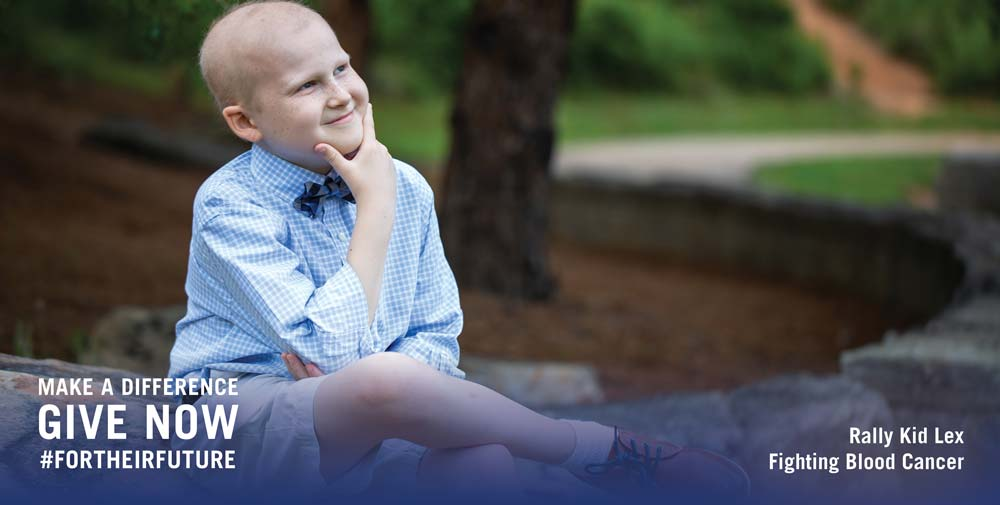 How Rally Kid Lex Stays Positive While Battling Cancer During a Global Pandemic