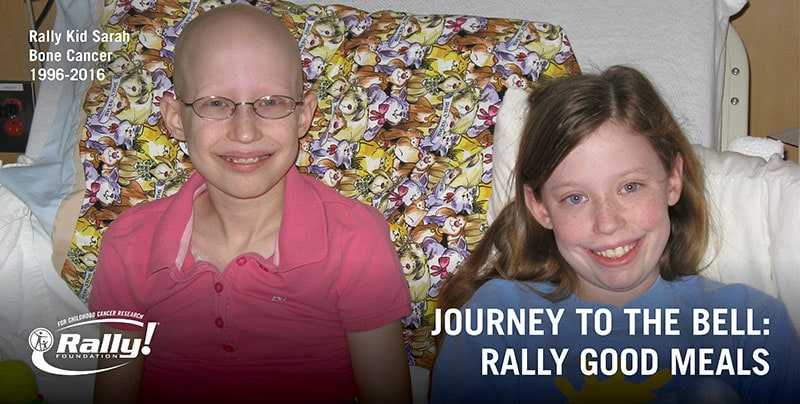 Rally Good Meals: Feeding Childhood Cancer Families on Their Journey to the Bell