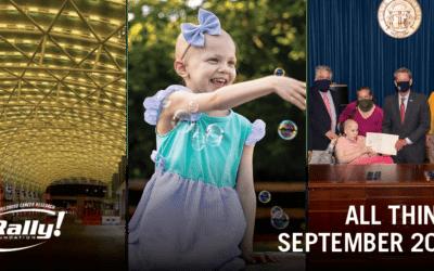 September Childhood Cancer Awareness Month 2021